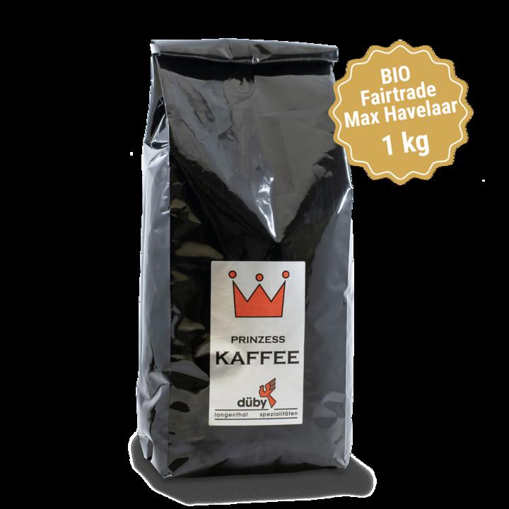 Prinzess Kaffee «Bio Fairtrade Max Havelaar», 1 kg
